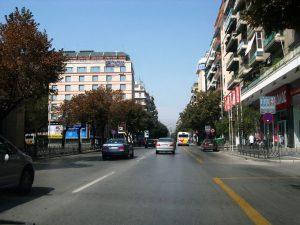 Улица Цимиски, Салоники
