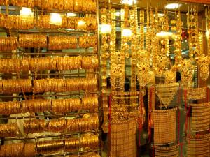Золотой рынок в Абу-Даби