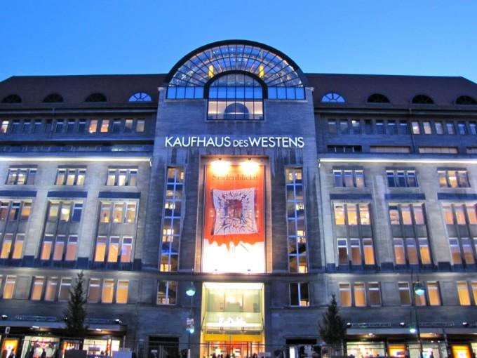 KaDeWe – самый знаменитый торговый центр Берлина
