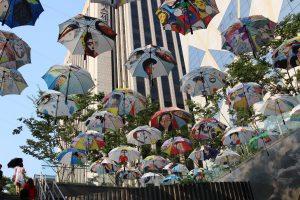 Зонтики в Сеуле