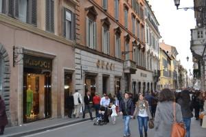 Шоппинг в Риме