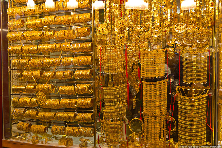 Золотой рынок, Дубай