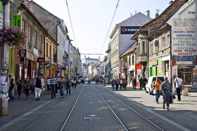 Obchodna (торговая) улица