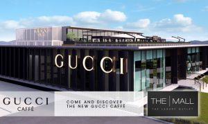 Gucci Caffe, The Mall